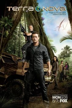 Terra Nova I found the first season of this show on Netflicks. So sad it didn't go for a second!!!  Loved it!!!