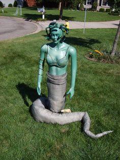 Steal the head of Medusa to turn the Kraken to stone.   (Zesiger-Portage,MI)