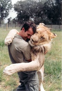 I would risk my life to force a hug on a lion, lol I don't care if it try's to bite me, I would just grab and never let go lol