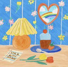 Cute Pastel Wallpaper, Soft Wallpaper, Wallpaper Iphone Cute, Japon Illustration, Cute Illustration, Aesthetic Art, Aesthetic Anime, Dibujos Cute, Korean Art