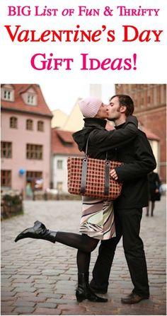 BIG List of Creative Valentine's Day Gift Ideas! ~ from TheFrugalGirls.com #valentinesday #thefrugalgirls