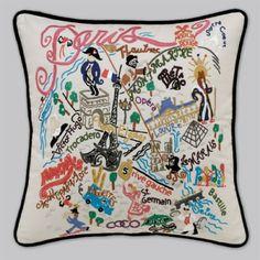 Product Comparison: New York City Pillow VS Paris Pillow VS London Pillow
