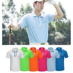 Different Multi Colors Golf Urban Clothing Men Plain Polo Shirts