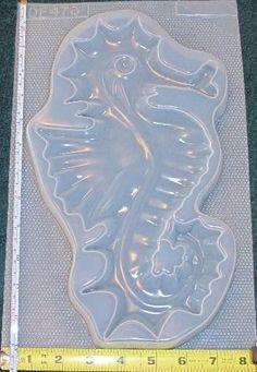 Large seahorse mold 473