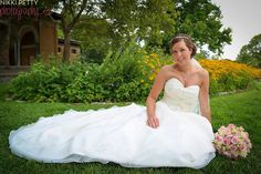 Congratulations to Stephanie and Nick! Our bride looked amazing in her Mori Lee wedding dress, style 2105.