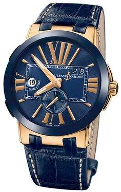 Ulysse Nardin Executive Dual Time 246-00/43
