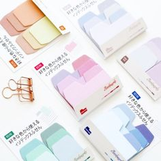 Gradient Sticky Note Tabs