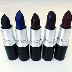 Dark MAC lipsticks