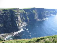 Cliffs of Mohr, Ireland. Oh The Places You'll Go, Places Ive Been, Places To Visit, Kilkenny Castle, Going On A Trip, Ireland Travel, Beautiful Places, Sunshine, To Go