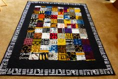 Shop for mudcloth on Etsy, the place to express your creativity through the buying and selling of handmade and vintage goods. African Quilts, African Fabric, African Art, Quilting Tips, Quilting Projects, Sewing Projects, Sewing Ideas, Gees Bend Quilts, African Mud Cloth