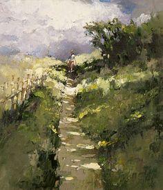 Footpath to the pond, Alexi Zaitsev