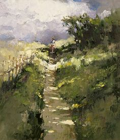 Footpath to the pond, Alexi Zaitsev