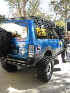 AOE American Overland Expedition Toyota 80-Series Land Cruiser @ Off Road EXPO 2010 Pomona Fairplex, CA | by GCRad1