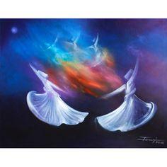 Islamic Canvas Art | In Your Light (Rumi) | Salam Arts