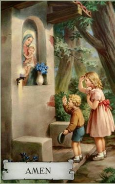 Since a small child we have made a shrine in the month of a May for Our Blessed Mother Mary.I offer up one rosary each day for those in need. Thank you Mother Mary and for Eric.our son! Prayers To Mary, Catholic Prayers, Catholic Art, Catholic Saints, Blessed Mother Mary, Blessed Virgin Mary, Queen Mother, Religious Images, Religious Art