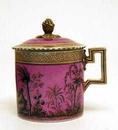 C.1790   Hard paste porcelain, coloured enamels and gold   German, Meissen