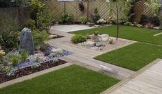 Modern Garden Design - Most Beautiful Gardens Contemporary Garden Design, Landscape Design, Modern Landscaping, Backyard Landscaping, Most Beautiful Gardens, Plantation, Small Gardens, Modern Gardens, Garden Gates