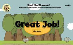 Spot the Dinosaur