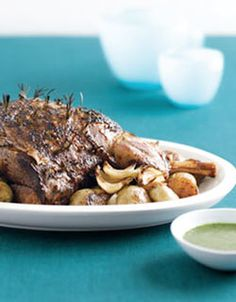 This succulent leg of spring lamb is tender and juicy. The mild flavour of spring lamb makes this the perfect recipe to introduce your kids to the taste of lamb.