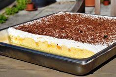 Peach Cake, Summer Cakes, No Bake Cake, Vanilla Cake, Tiramisu, Baking Recipes, Deserts, Sweets, Make It Yourself