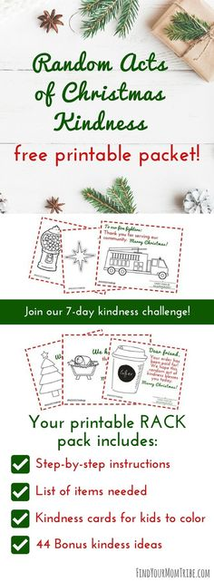 be intentional this christmas season and spread random acts of christmas kindness click here to