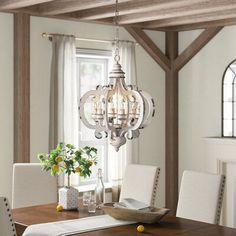 Kelly Clarkson Home Winnifred Geometric Chandelier Decor, Farmhouse Lighting, Country Lighting, Traditional Furniture, Home Decor, Geometric Chandelier, French Country Chandelier, Traditional Chandelier, Country Chandelier