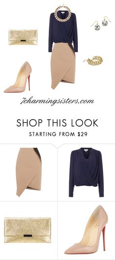 """""""Day-to-Night"""" by paula-charming on Polyvore featuring Oasis, Linea, Loeffler Randall, Christian Louboutin, women's clothing, women's fashion, women, female, woman and misses"""