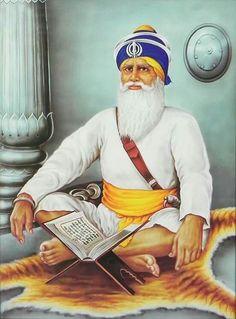 Baba Deep Singh Ji - Sikh Posters (Reprint on Paper - Unframed) Guru Nanak Photo, Guru Nanak Ji, Nanak Dev Ji, Beautiful Nature Wallpaper, Beautiful Paintings, Guru Tegh Bahadur, Sikhism Religion, Baba Deep Singh Ji, Prophets In Islam