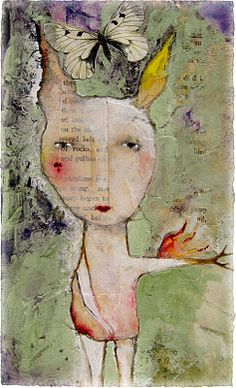 The Art of Lynne Hoppe. Her faces hold so much mystery...