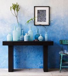 Ombre wall paint ideas 2