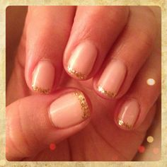 Jessica gel french manicure