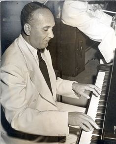 Fletcher Henderson Playing the Piano
