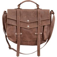 Sharo Leather Laptop Messenger Bag and Brief Brown Leather/Green ...