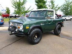 1971 Ford Bronco Sport. $9,800