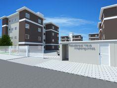Timbó – Iniciada a construção de 128 apartamentos da Caixa  Desde o final do mês de outubro estão sendo realizados os serviços de estaqueamento no terreno onde será construído o Condomínio Residencial Nova Araponguinhas I e II.