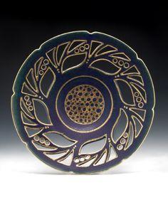 Meg Burgess - pierced bowl