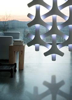 'Synapse' modular lamp by the Italian designer Francisco Gomez Paz for Luceplan.