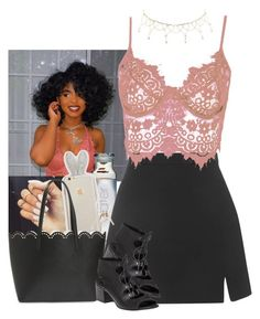 """"""""""" by jemilaa ❤ liked on Polyvore featuring Topshop, WithChic, BP., Givenchy, 275 Central and Charlotte Russe"""