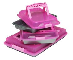 OvenStuff Non-Stick Six Piece Travel Bakware Set *** More info could be found at the image url.