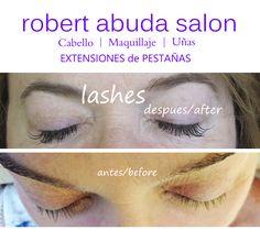 Hair Salon Merida   Extensiones de Pestañas MINKYS Merida by Yenni M.  Tel 999 926 3015 www.robertabudasalon.com/extensiones-de-pestanas-merida/
