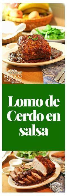 lomo de cerdo en salsa de ciruela pasa es una receta simplemente deliciosa, sencilla y muy elegante, aparte es muy fácil de preparar. #receta #mexico #cerdo #saboresdemexico