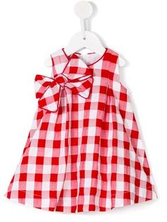 Shop the latest designer baby girl Casual Dresses at Farfetch now. Find new season kidswear stock by thousands of designer baby girls from hundreds of boutiques Cute Baby Dresses, Girls Casual Dresses, Dresses Kids Girl, Kids Outfits, Girls Frock Design, Kids Frocks Design, Baby Girl Fashion, Kids Fashion, Baby Girl Dress Patterns