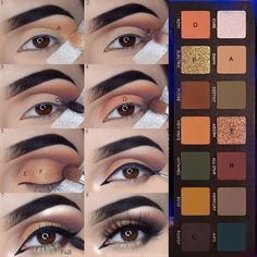"1,211 Likes, 7 Comments - Asma ✨ (@glamorous_reflections) on Instagram: ""Hiya babies! #stepbystep pictorial of my 1st look created using the new #subculture palette from…"""
