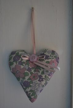 I have been making little lavender stuffed fabric hearts today ... I think I must be getting in the mood for Valentines day! As I was getting ready, I thought that some of you crafty people might l...