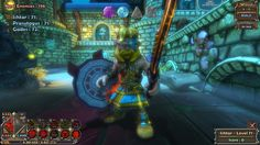 Dungeon Defenders - Armadura cool do meu barbaro :D