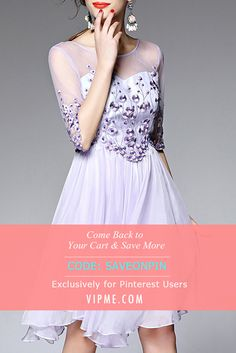 You Cart is CRYING! Come Back to Your Cart and Your Abandoned Yet Lovely Dresses with Extra Discount NOW. Type SAVEONPIN When You Check Out. Come Back to VIPme.com NOW!