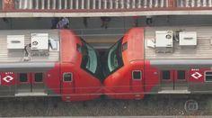 Move Metrópole | Sempre em movimento!: Batida entre trens deixa feridos na estação Baruer...