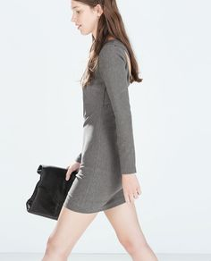 ZARA - NEW THIS WEEK - DRESS WITH BACK SLITS