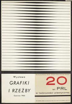 Henryk Tomaszewski, 20 lat PRL w tworczosci plastycznej Wystawa grafiki i rzezby, czerwiec, 1965