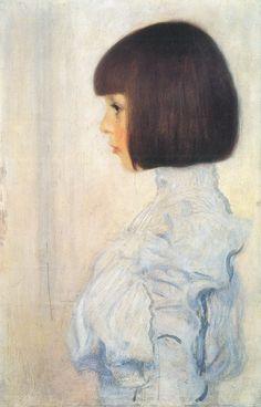 """""""Portrait of Helene Klimt""""  by Klimt Gustav"""
